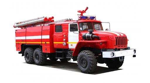 пожарная автоцистерна Урал
